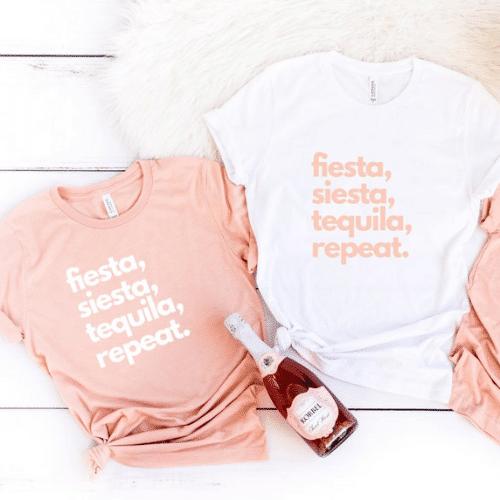 Fiesta Bachelorette Party - tequila
