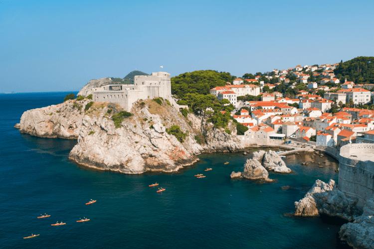 Dubrovnik, Croatia Things to do: Kayaking tour
