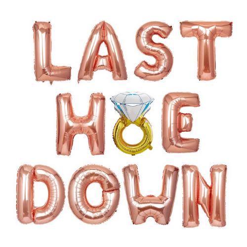 western Bachelorette Balloon - Last Hoe Down
