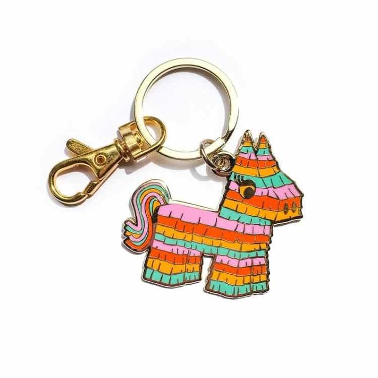 Fiesta Bachelorette Party favor keychain