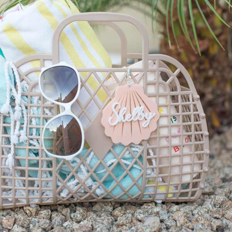 Beach Bachelorette Party seashell tag