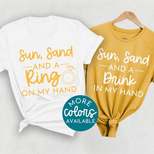 Beach Bachelorette Party shirts