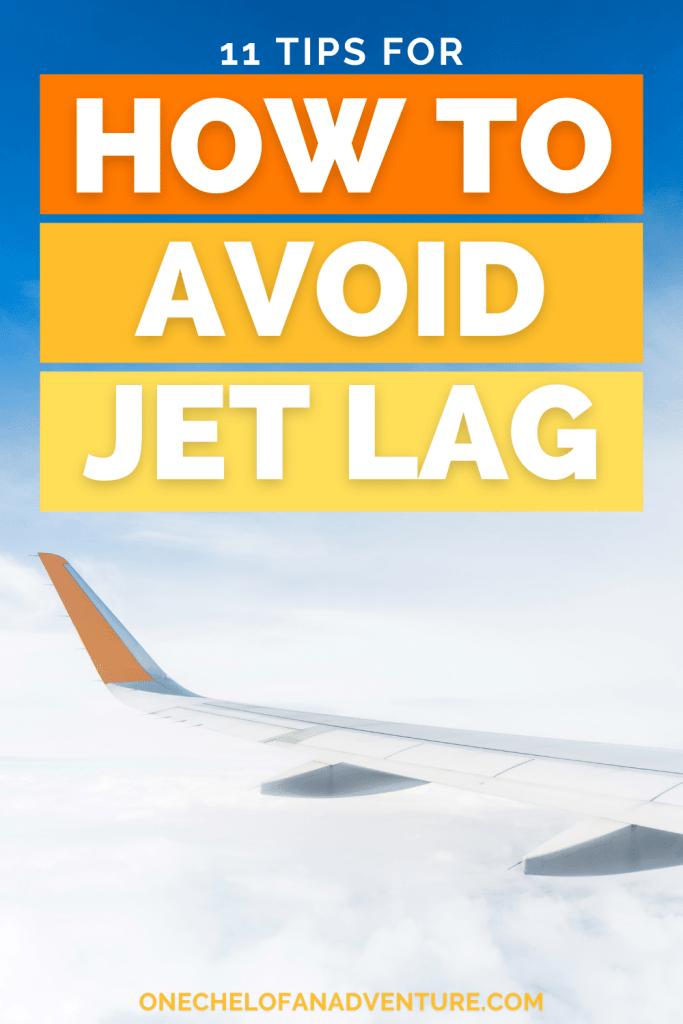 How to Prevent Jet Lag tips