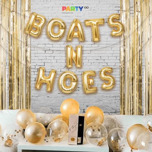 Nautical Bachelorette Party Ideas - Balloons