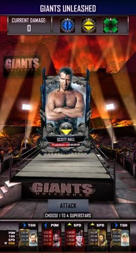 WWE SuperCard Giants Unleashed Damage