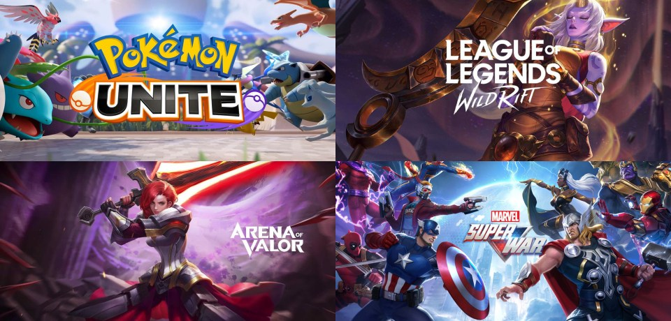 Best MOBA games for Cell Phones