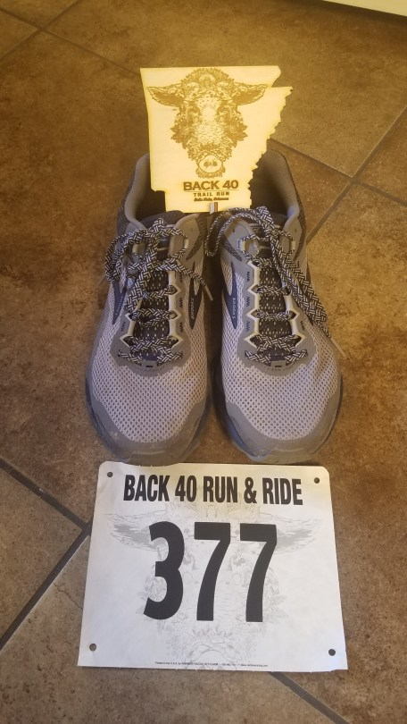Back 40 Trail Run Bella Vista Arkansas 2019