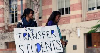 Callingtransferstudents