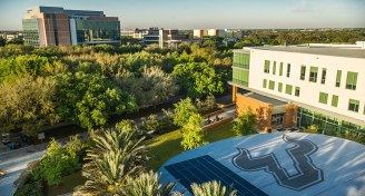 Into usf intro aerial campus