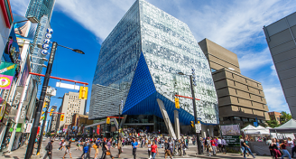 Ryerson university student learning centre exterior