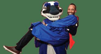 Brock mascot