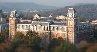 Campus shot blur