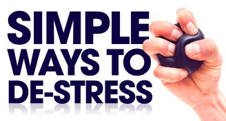 Simple ways to destress board