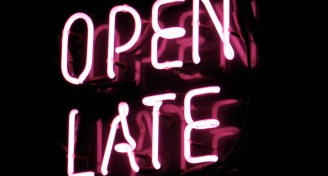 Open late sign 2014