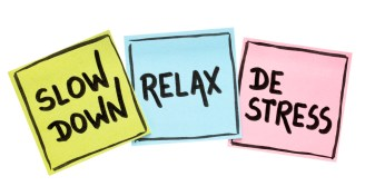 Slow down relax de stress