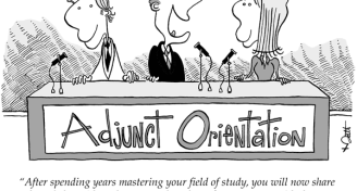 Adjunct orientation