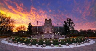 Burruss hall