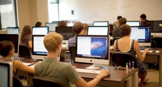Computer science classroom