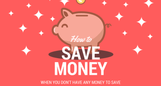 Save money when dont have any