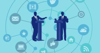 Social media gets political