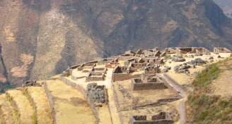 Qallaqasa ruins at pisac peru