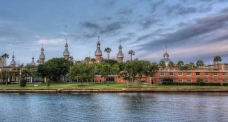 University of tampa and hillsborough river