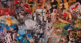 Art history collage