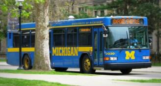 Blue bus 0