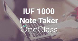 Iuf 1000 note taker
