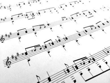 An image of a music score.