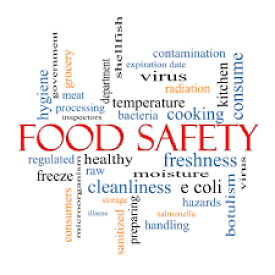 This image shows the importance of food safety in every day life.
