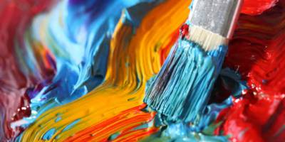Different forms of art can help relieve stress in a number of ways.