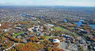 Visiting boston aerial
