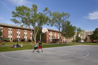 Allen Hall is a freshman dorm.