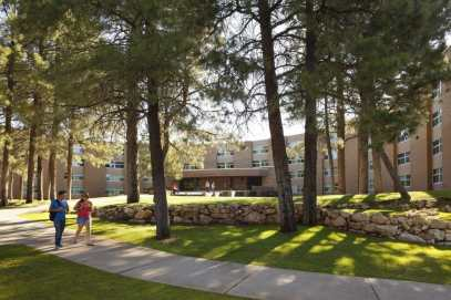 McConell Hall features co-ed living for students at NAU.