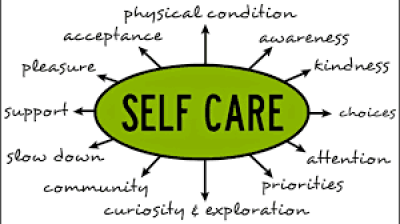 A self care poster