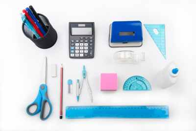 School supplies particularly for math classes
