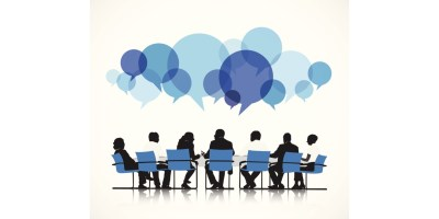 Communication: An illustration for corporate discussion