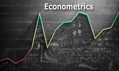 Econometrics involves lots of mathematical work