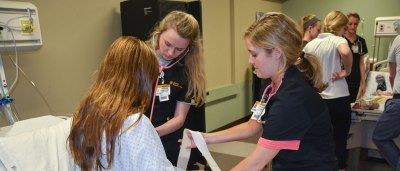 Health care professionals trained at the University