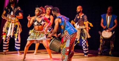 people performing stomp dance