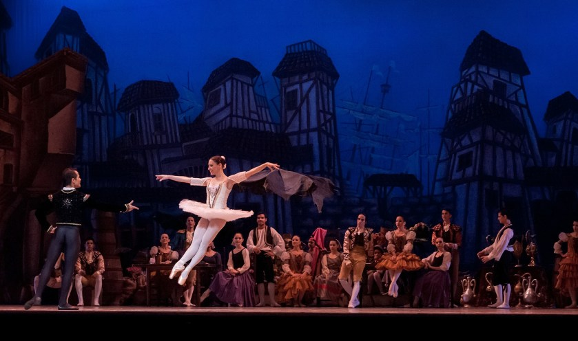A dancer in a play