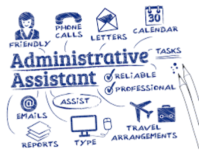 The Office Assistant has a variety of responsibilities similar to that of an Administrative Assistant.