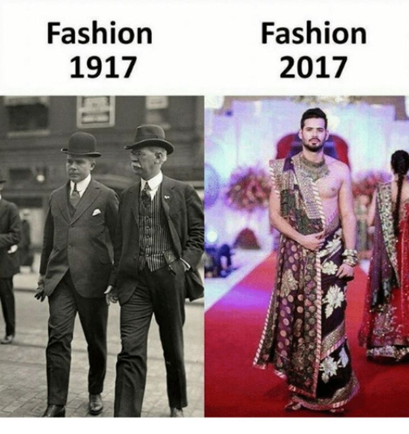 Fashion trends are changing at a high pace