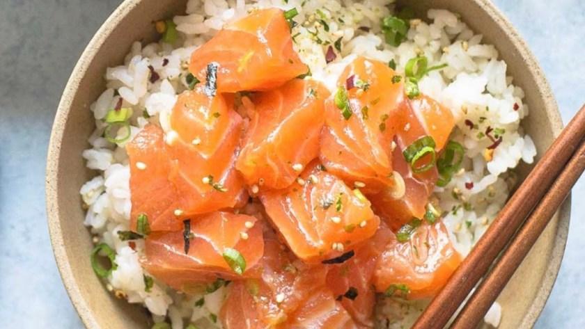 Sushi bowl at uconn