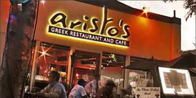 Front of aristos-greek-restaurant-