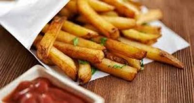 spicy fries serving
