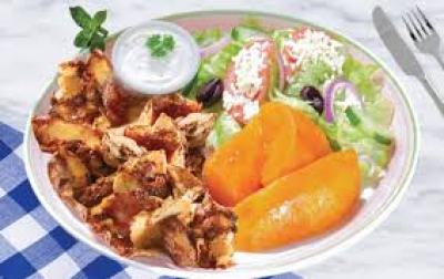 mediterranean grilled chicken with vegetables