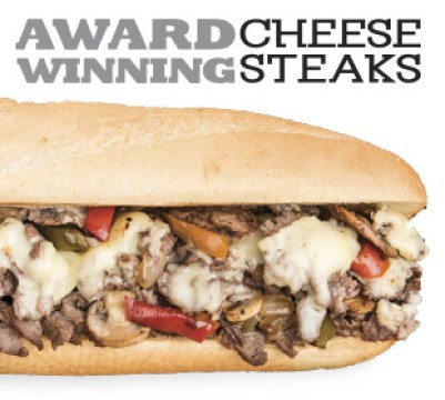 a picture of a cheese steak