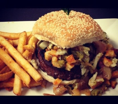Example of a food at DaddyO's BBQ and Sports Bar